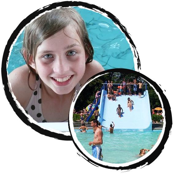 rond groepsaccommodatie loon op zand - omgeving zwembad