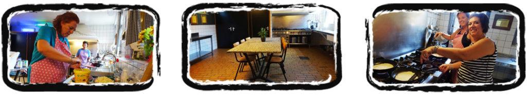 groepsverblijf - keuken